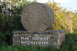 Peak District National Park Millstone